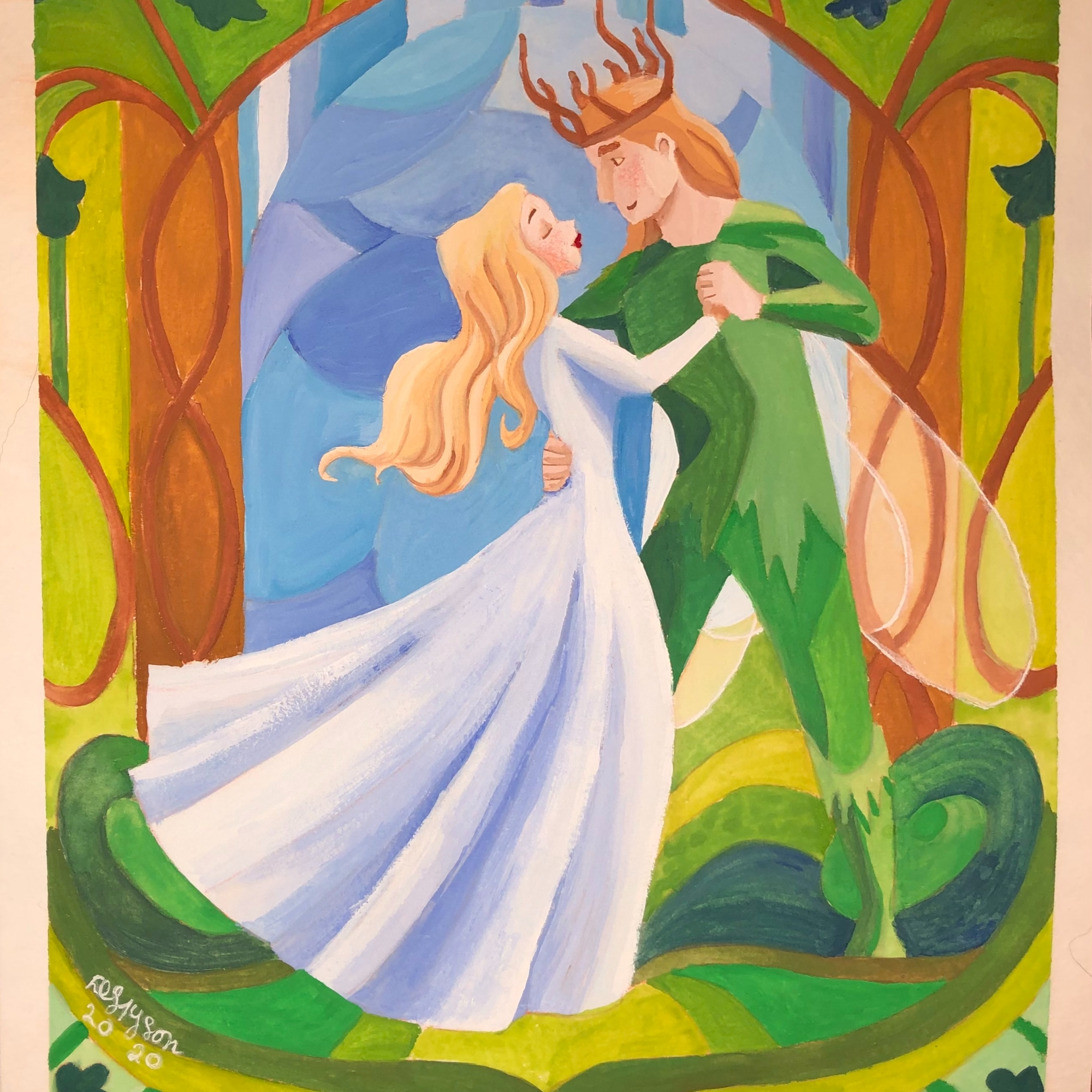 The Courtship of the Fairy King